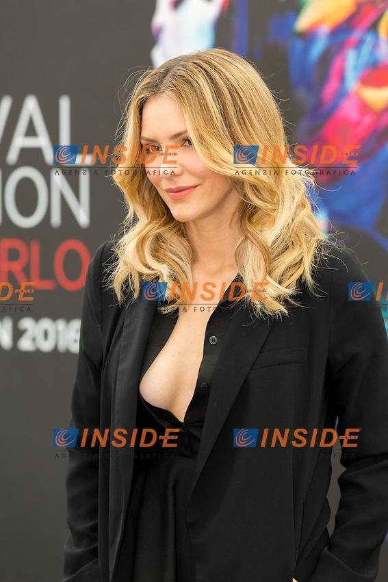 Katharine MCPHEE, Scorpion<br /> <br /> Monaco Montecarlo 14-06-2016 <br /> 56th Monaco TV Festival - Photocall Opening Ceremony <br /> Foto Nicolas Gavet Panoramic / Insidefoto
