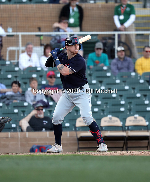 Gavin Collins - Cleveland Indians 2020 spring training (Bill Mitchell)