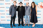"""Andrew Stanton, Javier Gurruchaga, Jose Luis Gil and Lindsay Collins attends to the morning premiere of the film """"Buscando a Dory"""" at Cines Kinepolis in Madrid. June 19. 2016. (ALTERPHOTOS/Borja B.Hojas)"""