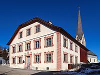 Haus der Fasnacht in Imst, Tirol, Österreich, Europa, immaterielles UNESCO-Weltkuturerbe<br /> House of FFasnacht, Imst, Tyrol, Austria, Europe