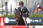 25.09.2015 Barcelon CSIO Barcelona . Picture show Jonna Ekberg (SWE) ridding Air Pia V.Z during during EL Peridodico Trophy at Real Club de Polo de Barcelona