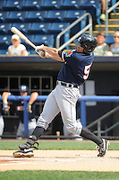 Connecticut Tigers outfielder Kasey Coffman (56) during game against the Staten Island Yankees at Richmond County Bank Ballpark at St.George on July 7, 2013 in Staten Island, NY.  Staten Island defeated Connecticut 6-2.  (Tomasso DeRosa/Four Seam Images)