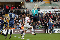 Pictured: Gorka Pintado of Swansea City in action<br /> Re: Coca Cola Championship, Swansea City FC v Cardiff City at the Liberty Stadium. Swansea, south Wales, Sunday 30 November 2008.<br /> Picture by D Legakis Photography / Athena Picture Agency, Swansea 07815441513