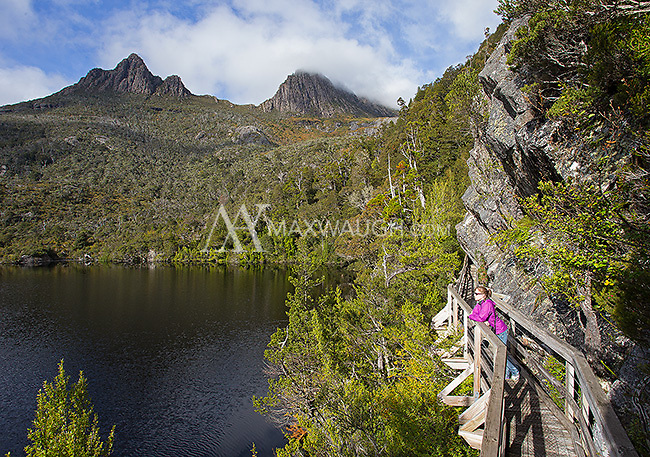 We were fortunate to have good weather and clear views of Cradle Mountain during our visit to Tasmania.