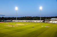 General view of the ground with few supporters during Lancashire Lightning vs Essex Eagles, Vitality Blast T20 Cricket at the Emirates Riverside on 4th September 2019