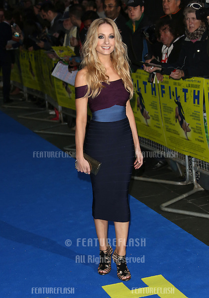 Joanna Froggatt arriving for the UK premiere of Filth held at the Odeon - Arrivals<br /> London. 30/09/2013 Picture by: Henry Harris / Featureflash