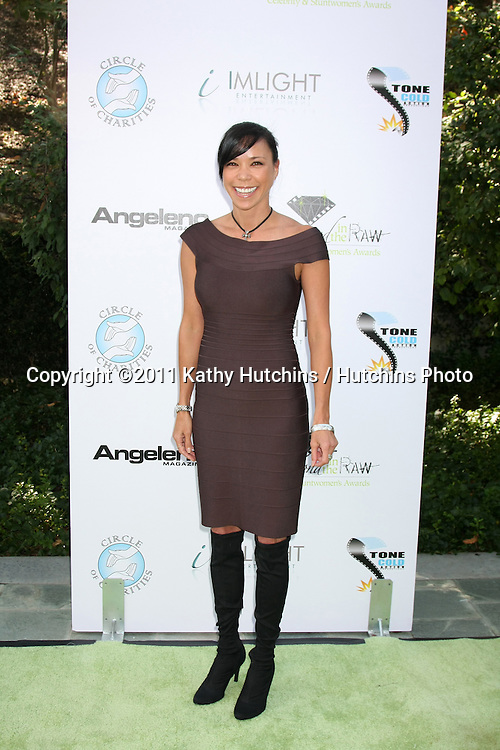 LOS ANGELES - OCT 16:  Boni Yanagisawa arriving at the 2011 Stuntwomen Awards at the Skirball Cultural Center on October 16, 2011 in Los Angeles, CA