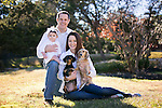 Dec 15, 2013; San Antonio, TX, USA; Family portrait taken at their lovely home with pets