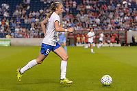 Bridgeview, IL - Saturday June 18, 2016: Julie King during a regular season National Women's Soccer League (NWSL) match between the Chicago Red Stars and the Boston Breakers at Toyota Park.