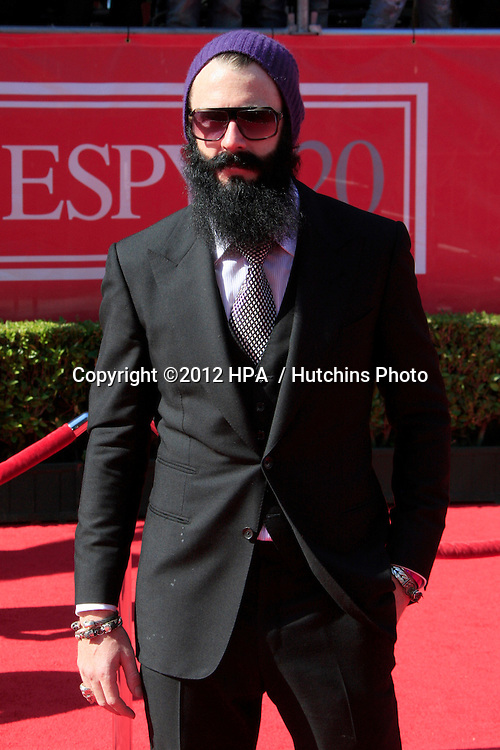 LOS ANGELES - JUL 11:  Brian Wilson arrives at the 2012 ESPY Awards at Nokia Theater at LA Live on July 11, 2012 in Los Angeles, CA