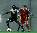 10.10.2015 Andorra. UEFA Europaen Championship Qualifying Round. Picture show Jordan Lukaku in action during match Andorra v Belgium