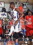 Texas-Arlington Mavericks forward Brandon Edwards (35) in action during the game between the UTA Mavericks and the Sam Houston State Bearkats held at the University of Texas at Arlington's, Texas Hall, in Arlington, Texas. Sam Houston defeats UTA 78 to 74
