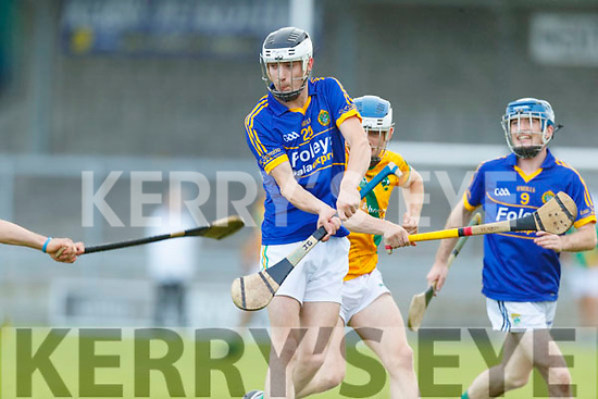 Jamie Galvin Lixnaw in action against  Kilmoyley during the Senior Kerry County Hurling Semi Finals between Lixnaw v Kilmoyley at Austin Stack park on Saturday last.