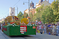 Flower Festival held the 40th time in Debrecen, Hungary. Thursday, 20. August 2009. ATTILA VOLGYI