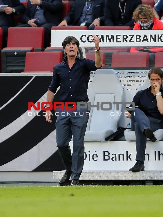 DFB Freundschaftsl&auml;nderspiel, Deutschland vs. USA<br /> Trainer Joachim L&ouml;w (Deutschland)<br /> <br /> Foto &copy; nordphoto /  Bratic