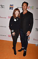BEVERLY HILLS, CA - MAY 10: Frances Fisher (L) and Sebastian Siegel attend the 26th Annual Race to Erase MS Gala at The Beverly Hilton Hotel on May 10, 2019 in Beverly Hills, California.<br /> CAP/ROT<br /> &copy;ROT/Capital Pictures