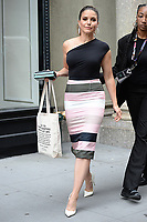 www.acepixs.com<br /> July 13, 2017 New York City<br /> <br /> Sophia Bush was seen leaving a taping of AOL Build in New York City on July 13, 2017.<br /> <br /> Credit: Kristin Callahan/ACE Pictures<br /> <br /> Tel: 646 769 0430<br /> Email: info@acepixs.com