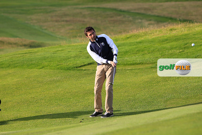 Paul O'Sullivan (Bray) on the 1st during Round 2 of the South of Ireland Amateur Open Championship at LaHinch Golf Club on Thursday 23rd July 2015.<br /> Picture:  Golffile | Thos Caffrey