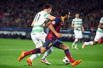 UEFA Champions League 2013/2014.<br /> FC Barcelona vs Celtic FC: 6-1 - Game: 6.<br /> Boerrigter vs Martin Montoya.