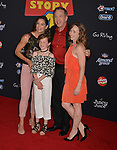"Tim Allen, wife and daughters 025 arrives at the premiere of Disney and Pixar's ""Toy Story 4"" on June 11, 2019 in Los Angeles, California."