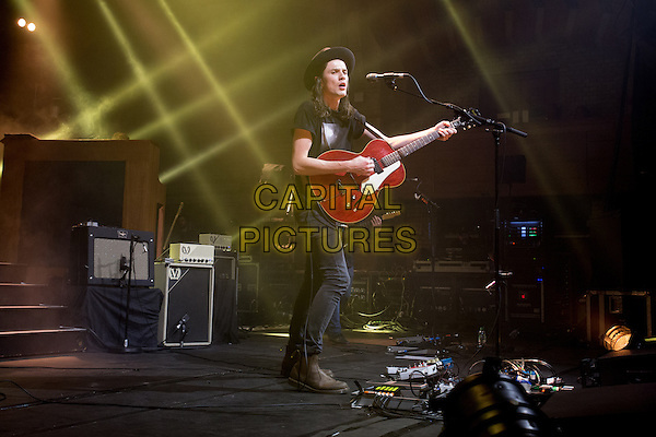 CAMBRIDGE, ENGLAND - British singer/songwriter James Bay plays the Corn Exchange, Cambridge with a special appearance by Ed Sheeran on Sunday October 4th 2015 in Cambridge, England<br /> CAP/SW/PP<br /> &copy;Stuart Hogben/PP/Capital Pictures