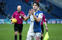 Blackburn Rovers' Lewis Travis at the end of todays match<br /> <br /> Photographer Rachel Holborn/CameraSport<br /> <br /> The EFL Sky Bet League One - Blackburn Rovers v Oldham Athletic - Saturday 10th February 2018 - Ewood Park - Blackburn<br /> <br /> World Copyright &copy; 2018 CameraSport. All rights reserved. 43 Linden Ave. Countesthorpe. Leicester. England. LE8 5PG - Tel: +44 (0) 116 277 4147 - admin@camerasport.com - www.camerasport.com