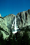 CA: Yosemite National Park, Yosemite Falls    .Photo Copyright: Lee Foster, lee@fostertravel.com, www.fostertravel.com, (510) 549-2202.cayose239