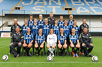 2013.08.05 fotosessie Club Brugge Vrouwen