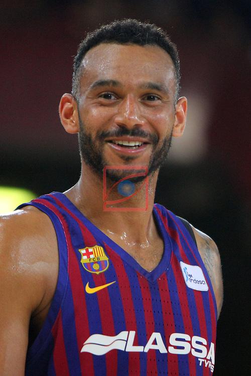 League ACB-ENDESA 201/2019.Game 38.<br /> PlayOff Semifinals.1st match.<br /> FC Barcelona Lassa vs Tecnyconta Zaragoza: 101-59.<br /> Adam Hanga.