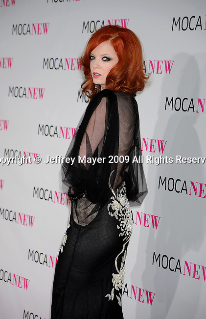 LOS ANGELES, CA. - November 14: Shirley Manson arrives at the MOCA NEW 30th anniversary gala held at MOCA on November 14, 2009 in Los Angeles, California.