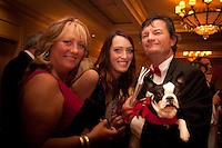 Pets & friends step out at the 11th Annual Pet Lovers Gala, 'My Furry Valentine', to raise funds for The Humane Society Naples no-kill animal shelter, held at the Ritz Carlton Tiburon, Naples, Florida, Feb. 12, 2011. Photo by Debi Pittman Wilkey