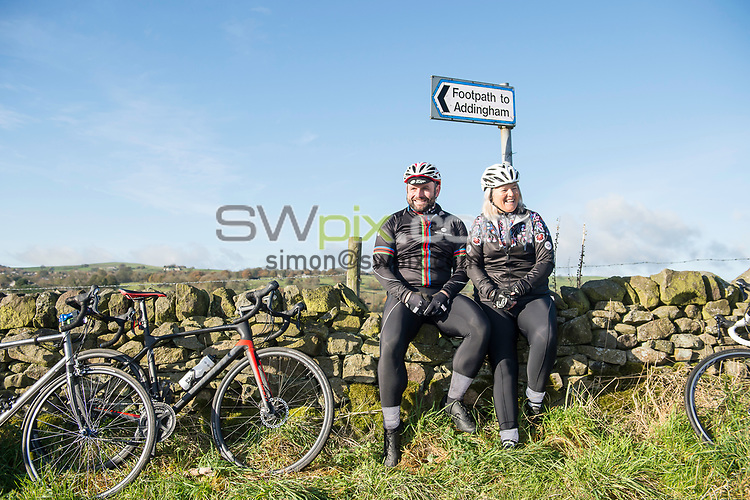 Picture by Allan McKenzie/SWpix.com - 11/11/17 - Cycling - Fat Lad at The Back Clothing Wear -Ilkley, England -
