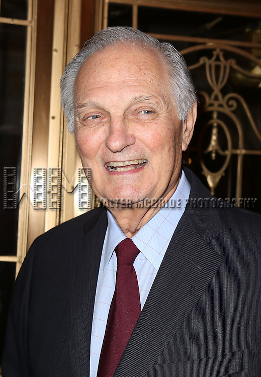Alan Alda attending the 69th Annual Theatre World Awards at the Music Box Theatre in New York City on June 03, 2013.