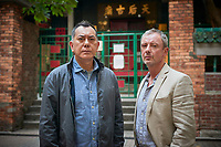 Ep 2 - John Simm as Jonah and Anthony Wong as David<br /> White Dragon (2018 - )<br /> Strangers (original title)<br /> *Filmstill - Editorial Use Only*<br /> CAP/RFS<br /> Image supplied by Capital Pictures