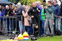 HAREN - Voetbal, Eerste training FC Groningen, Sportpark de Koepel, seizoen 2018-2019, 24-06-2018,  FC Groningen trainer Danny Buijs