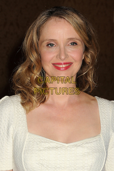 Julie Delpy<br /> Hollywood Foreign Press Association's 2013 Installation Luncheon held at The Beverly Hilton Hotel, Beverly Hills, California, USA.<br /> August 13th, 2013<br /> HFPA headshot portrait white <br /> CAP/ADM/BP<br /> &copy;Byron Purvis/AdMedia/Capital Pictures