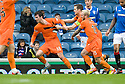 DUNDEE UTD'S GAVIN GUNNING  CELEBRATES AFTER HE SCORES DUNDEE UNITED'S FIRST
