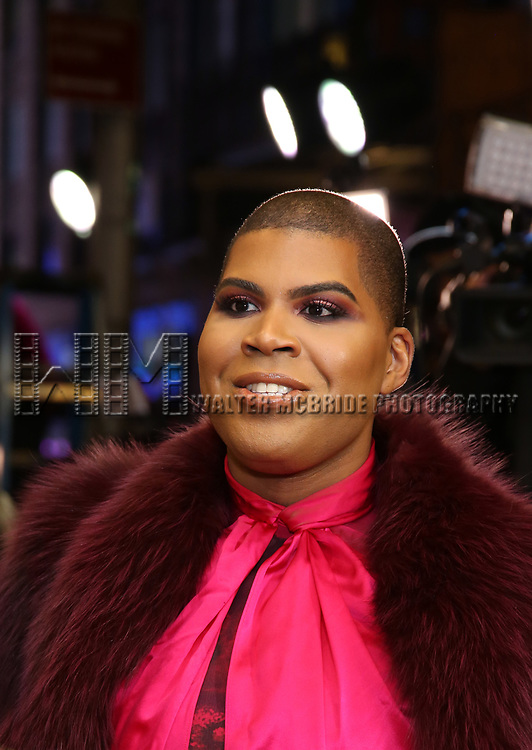 """EJ Johnson attends the Broadway Opening Night Performance of """"To Kill A Mockingbird"""" on December 13, 2018 at The Shubert Theatre in New York City."""