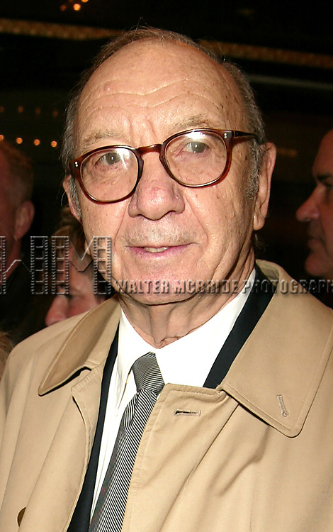 Neil Simon and wife Elaine Joyce<br />