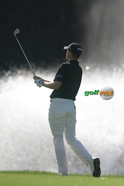 Michael Hoey (NIR) on the 2nd on the Final Day of the 2012 Open de Andalucia Costa del Sol at Aloha Golf Club, Marbella, Spain...(Photo Jenny Matthews/www.golffile.ie)