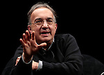 Fiat Chrysler Automobiles (FCA) Group Chief Executive Officer Sergio Marchionne attends a debate at the Festival of Economics, in Trento, on June 1, 2014.