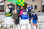 Its a Snow Day in Renard pictured here l-r; Cara McCrohan, Tiernagh McGill, Cathal McCrohan, Sarah Lilly McGill, Niamh McCrohan, Odran & Darragh McGill.