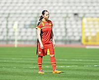Belgium U19 - Ukraine U19 : <br /> <br /> Belgium U19 : Lola Wajnblum<br /> <br /> foto Dirk Vuylsteke / Nikonpro.be