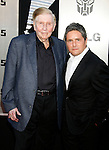 "WESTWOOD, CA. - June 22: Sumner Redstone and Brad Grey arrive at the 2009 Los Angeles Film Festival - The Los Angeles Premiere of ""Transformers: Revenge of the Fallen"" at Mann's Village Theater on June 22, 2009 in Los Angeles, California."
