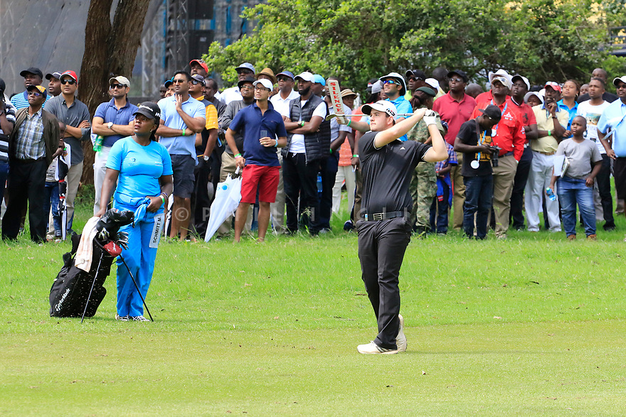 Max Schmitt (GER) during the final round of the Barclays Kenya Open played at Muthaiga Golf Club, Nairobi, Kenya 22nd - 25th March 2018 (Picture Credit / Phil Inglis) 22/03/2018<br /> <br /> <br /> All photo usage must carry mandatory copyright credit (&copy; Golffile | Phil Inglis)