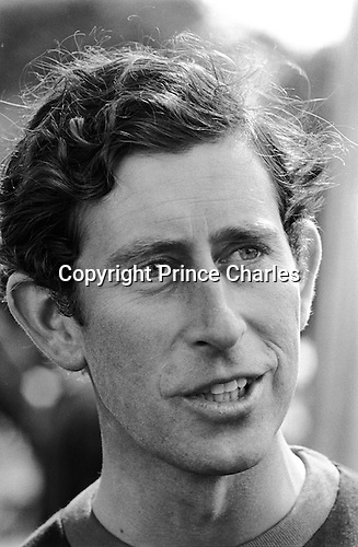 Prince Charles playing Polo at the Ham Polo Club ground Surrey near London UK 1980s...