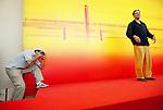 Festival di Venezia  l'attore John Diehl phtocall per il  l film di wim Wenders, 2004