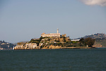 San Francisco:  Alcatraz Island in San Francisco Bay. Photo 14-casanf78201. Photo copyright Lee Foster.