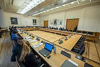 9. Sitzungstag des 1. Untersuchungsausschusses &quot;Terroranschlag Breitscheidplatz&quot; am Freitag den 26. Januar 2018.<br /> Als Zeugen fuer die 9. Sitzung des sog. &quot;Amri-Untersuchungsausschuss&quot; des Berliner Abgeordnetenhaus waren Mitarbeiter der Landeskriminalaemter Berlin und Nordrhein-Westphalen geladen.<br /> Der Amri-Untersuchungsausschuss will versuchen die diversen Unklarheiten im Fall des Weihnachtsmarkt-Attentaeters zu aufzuklaeren.<br /> 26.1.2018, Berlin<br /> Copyright: Christian-Ditsch.de<br /> [Inhaltsveraendernde Manipulation des Fotos nur nach ausdruecklicher Genehmigung des Fotografen. Vereinbarungen ueber Abtretung von Persoenlichkeitsrechten/Model Release der abgebildeten Person/Personen liegen nicht vor. NO MODEL RELEASE! Nur fuer Redaktionelle Zwecke. Don't publish without copyright Christian-Ditsch.de, Veroeffentlichung nur mit Fotografennennung, sowie gegen Honorar, MwSt. und Beleg. Konto: I N G - D i B a, IBAN DE58500105175400192269, BIC INGDDEFFXXX, Kontakt: post@christian-ditsch.de<br /> Bei der Bearbeitung der Dateiinformationen darf die Urheberkennzeichnung in den EXIF- und  IPTC-Daten nicht entfernt werden, diese sind in digitalen Medien nach &sect;95c UrhG rechtlich geschuetzt. Der Urhebervermerk wird gemaess &sect;13 UrhG verlangt.]