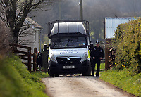 2017 03 27 House in Trelech where mother of Khalid Masood lives, Wales, UK
